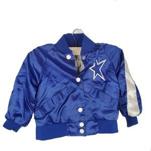 Dallas Cowboys NFL Cheerleader Toddler jacket
